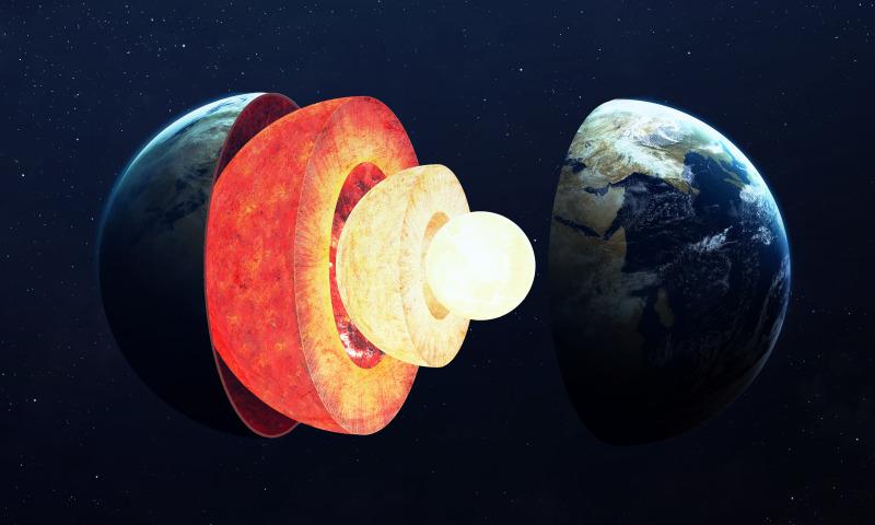 Co jest wewnątrz Ziemi?