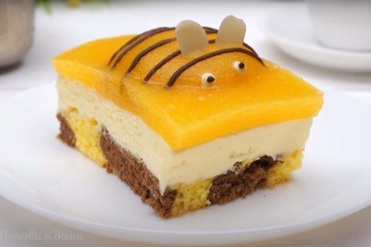 Zrób to sam Ciasto dla dzieci Bee - przepis krok po kroku ze zdjęciem