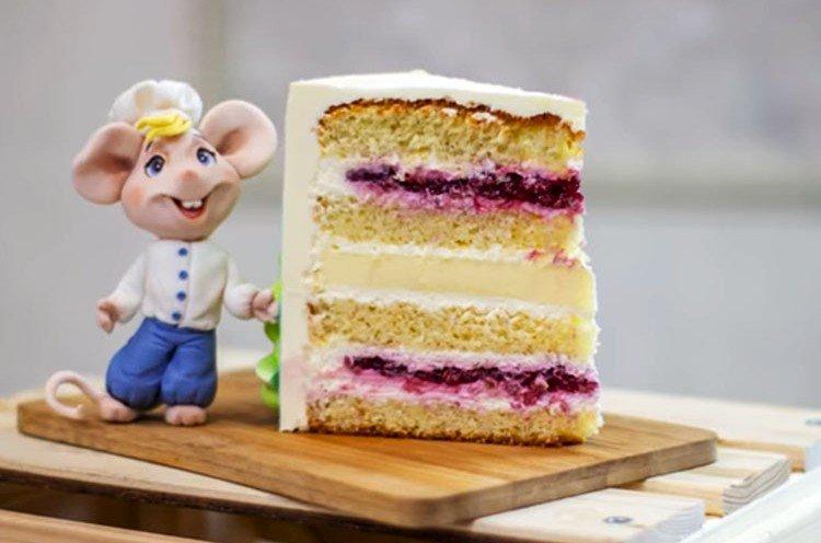 Tort dla dzieci Lody malinowe własnymi rękami - przepis krok po kroku ze zdjęciem