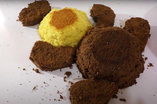DIY tort dla dzieci Miś - przepis krok po kroku