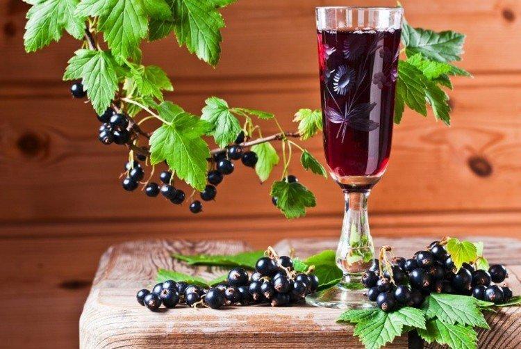 Domowe wino z czarnej porzeczki z rodzynkami – przepis jak zrobić