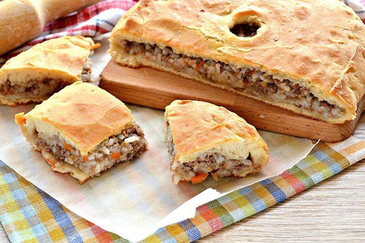 Ciasto mięsne z kefirem