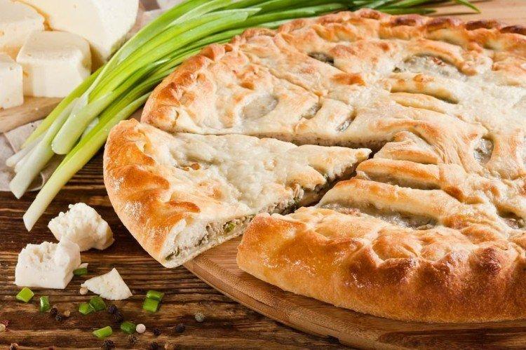 Ciasto z kurczakiem i serem - przepisy kulinarne