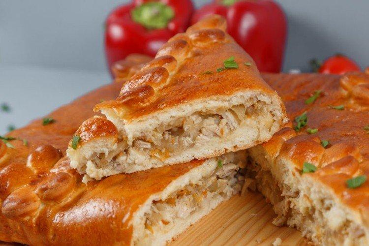 Ciasto z kurczakiem i kapustą - przepisy kulinarne