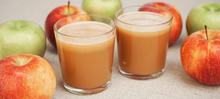 Sok jabłkowy: korzyści i szkody
